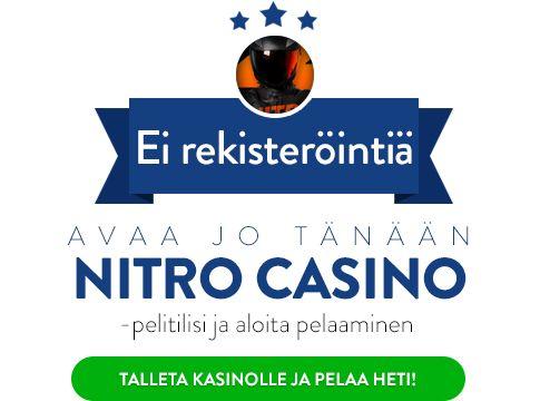 Nitro Casino pelaa heti