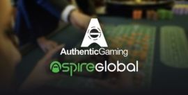 Authentic Gaming ja Aspire Global yhteistyö