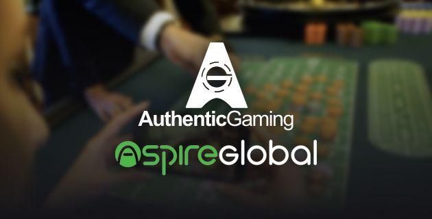 Authentic Gaming ja Aspire Global yhteistyö