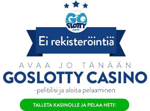 GoSlotty Casino pelaa heti