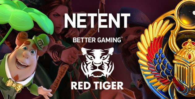 NetEnt & Red Tiger integraatio