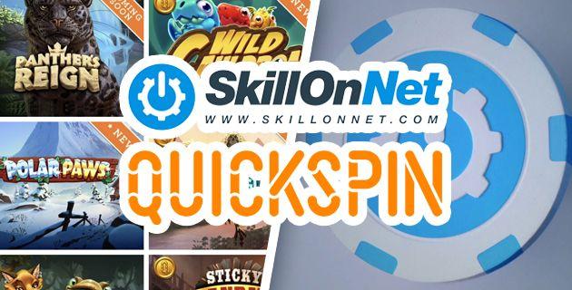 SkillOnNet ja Quickspinin yhteistyö
