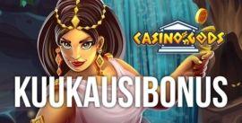 Casino Gods kuukausibonus