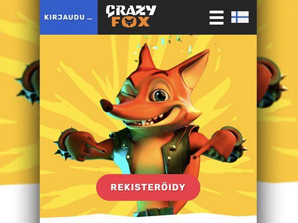 Crazy Fox Casino mobiili