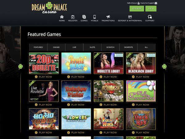 Dream Palace Casino Bonus Review