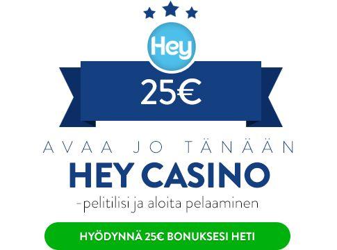 Hey Casino bonus