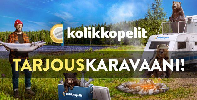 Kolikkopelit.com Tarjouskaravaani