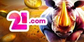 21.com kasino