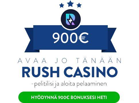 Rush Casino bonus