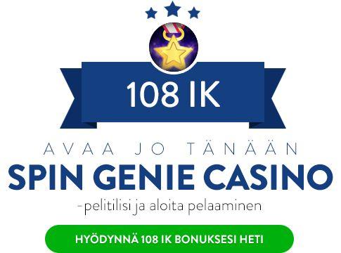 Spin Genie Casino bonus
