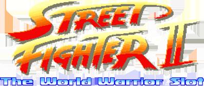 Street Fighter II: The World Fighter Slot logo