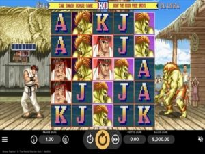 Street Fighter II: The World Fighter Slot