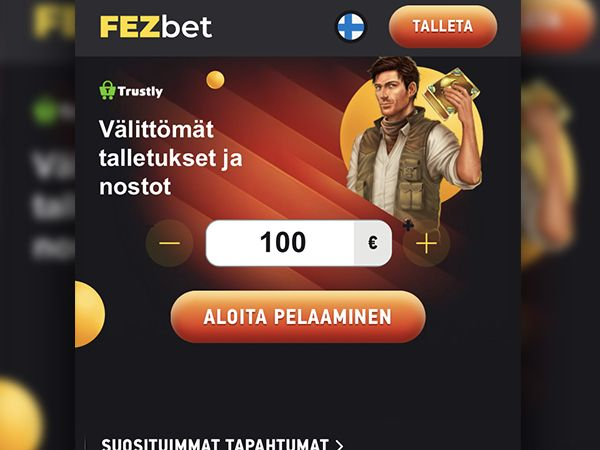 FEZbet Casino Mobiilikasino