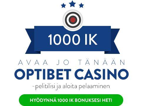 Optibet Casino bonus