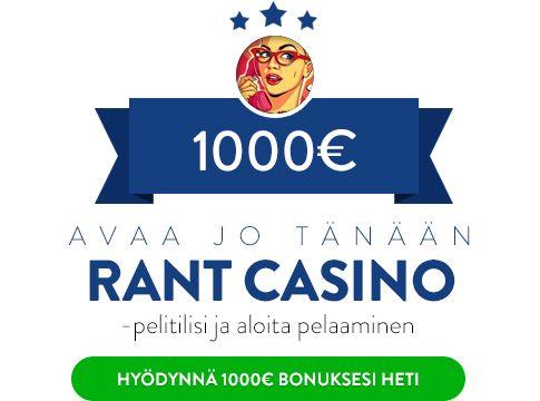 Rant Casino bonus