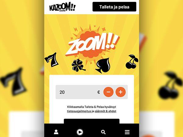 Kazoom Casino pikakasino