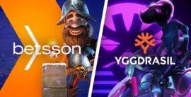 Betsson & Yggdrasil yhteistyö