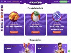 Cadabrus Casino kampanjat