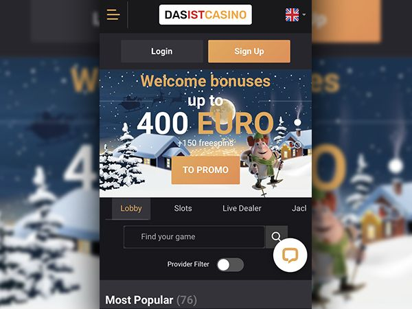 DasIst Casino mobiilikasino