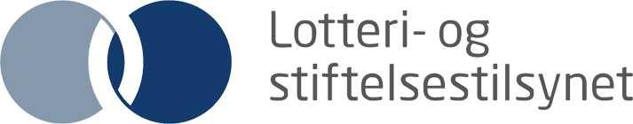 Lotteri- og stiftelsestilsynet logo