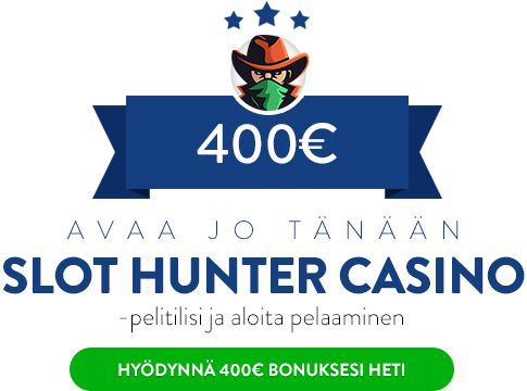 Slot Hunter Casino bonus