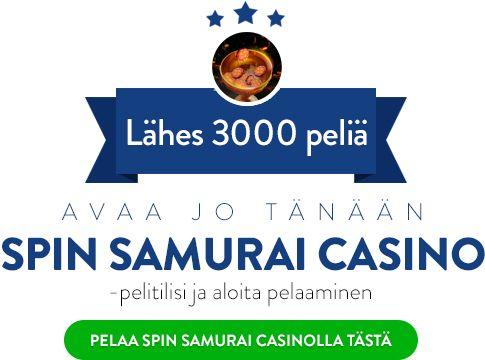 Pelaa Spin Samurai Casino