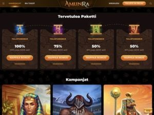 Amunra Casino kampanjat