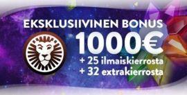 LeoVegas Casinon eksklusiivinen bonus