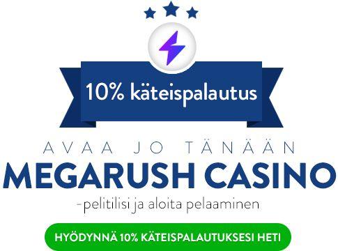 Megarush Casino bonus
