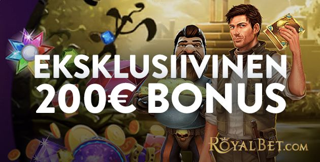 Royal Bet Casino eksklusiivinen bonus