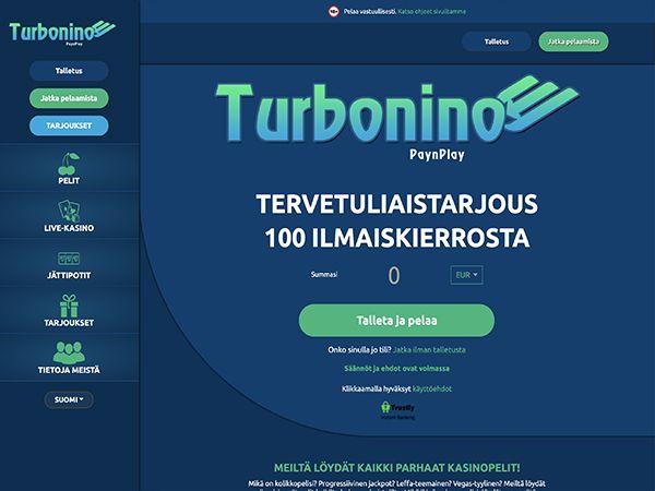 Turbonino Casino etusivu