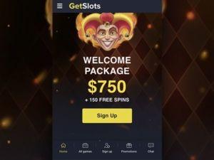 Getslots casino mobiili