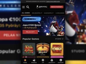 Lord Ping Casino mobiili