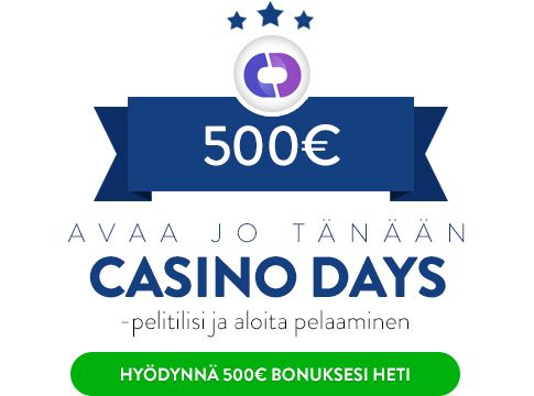 CasinoDays bonus