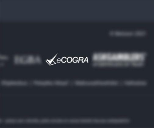 eCogra hyväksymistunnus
