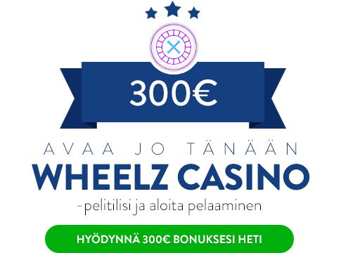 Wheelz Casino bonus