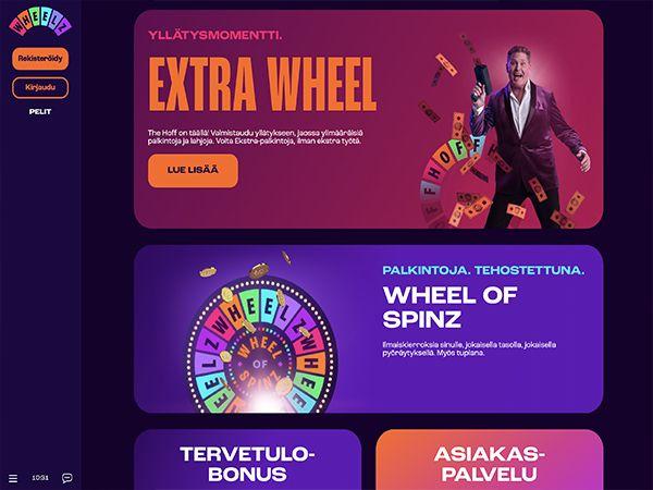 Wheelz Casino kampanjat