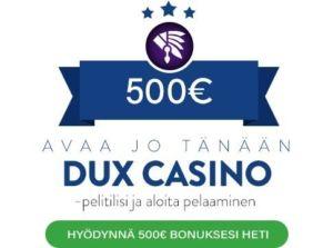 Dux Casino bunus