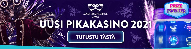 Masked singer - uusi kasino 2021