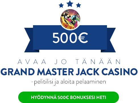 Grand Master Jack Casino bonus