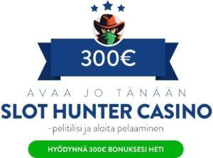 Slothunter Casino Bonus