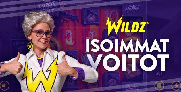 Wildz Casino voitot