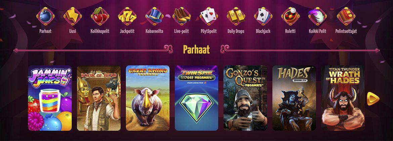 Winota Casino pelit