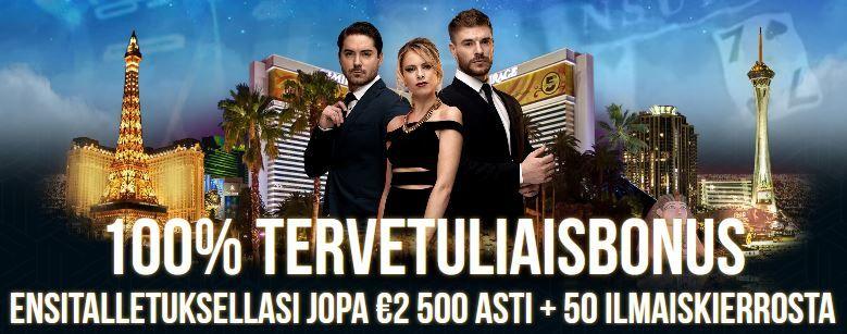 Dream Vegas Casino Tervetuliaisbonus