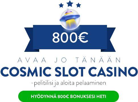 Cosmic Slot Casino bonus