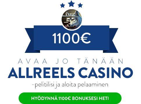AllReels Casino eksklusiivinen bonus