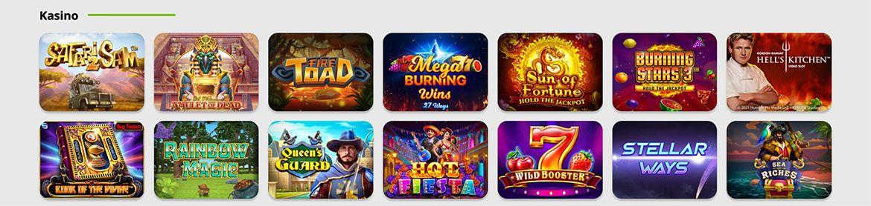 BetPat Casino pelivalikoima