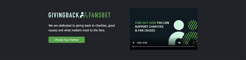 FansBet Casino hyväntekeväisyys