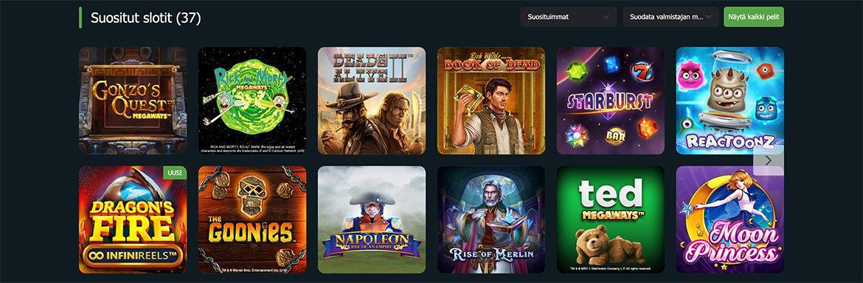 FansBet Casino pelit