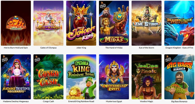 SuperSeven casino pelit